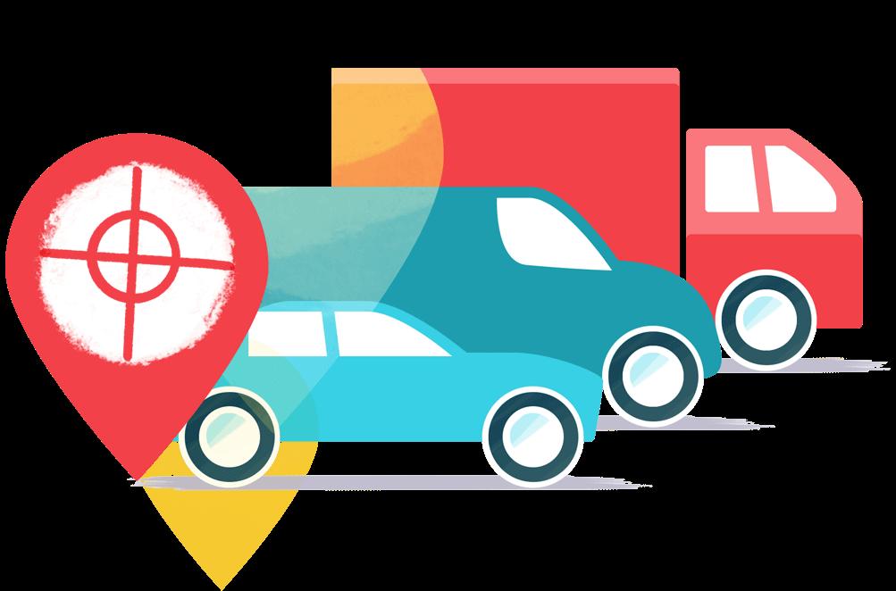 tracciamento GPS della flotta FleetGO