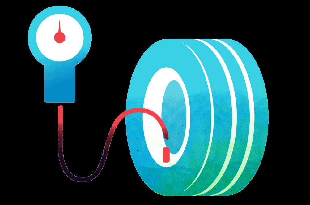 FleetGO Monitoraggio della pressione dei pneumatici