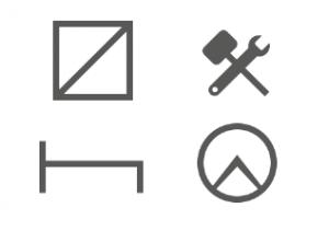 Quattro simboli tachigrafici FleetGO